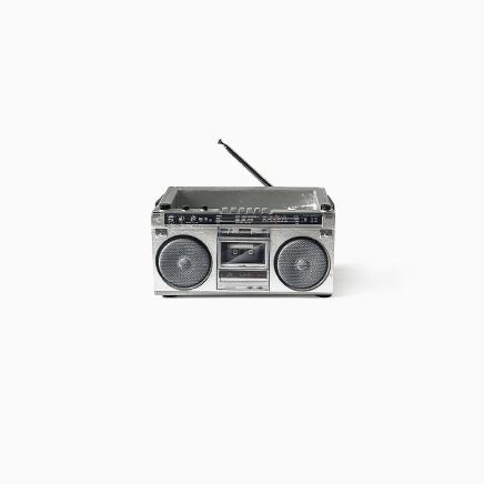 Cassette Tape Radio